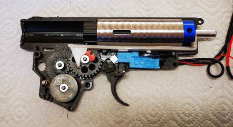 E&L AK-74UN Gearbox neue Kompressionsteile