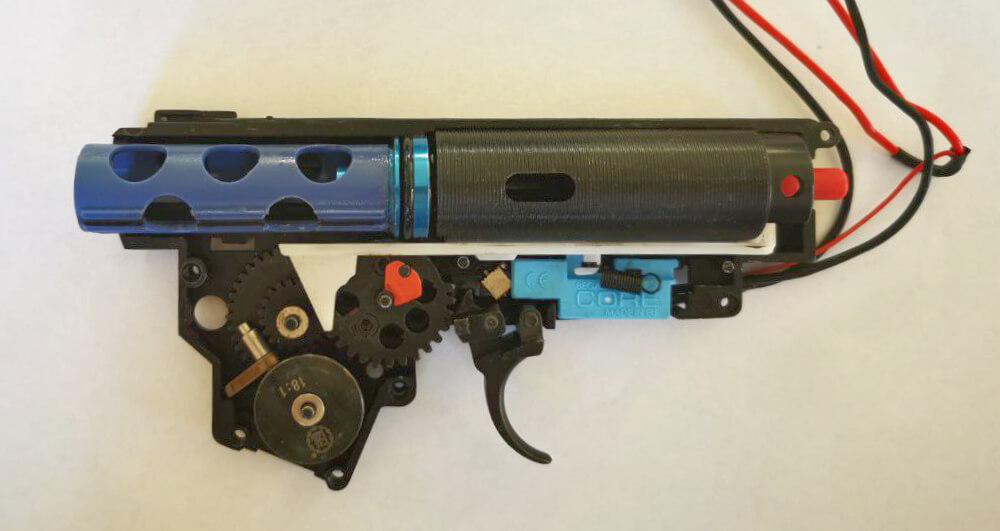 Originale Teile: Piston, Pistonhead, Cylinder und Cylinderhead E&L AK74UN