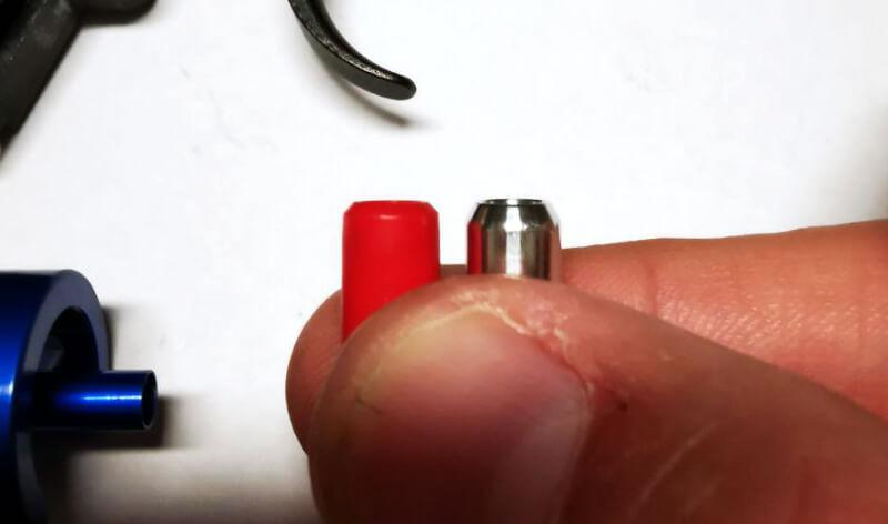 Unterschied original E&L Nozzle und RetroArms Alu Nozzle