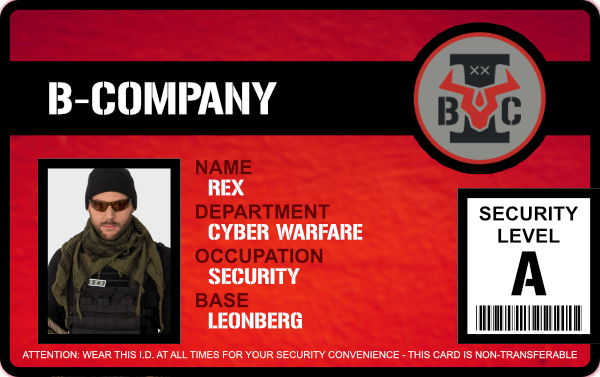 B-Company Membercard