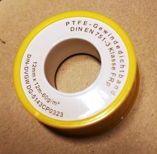 Abdichten Basics: Teflon-Tape