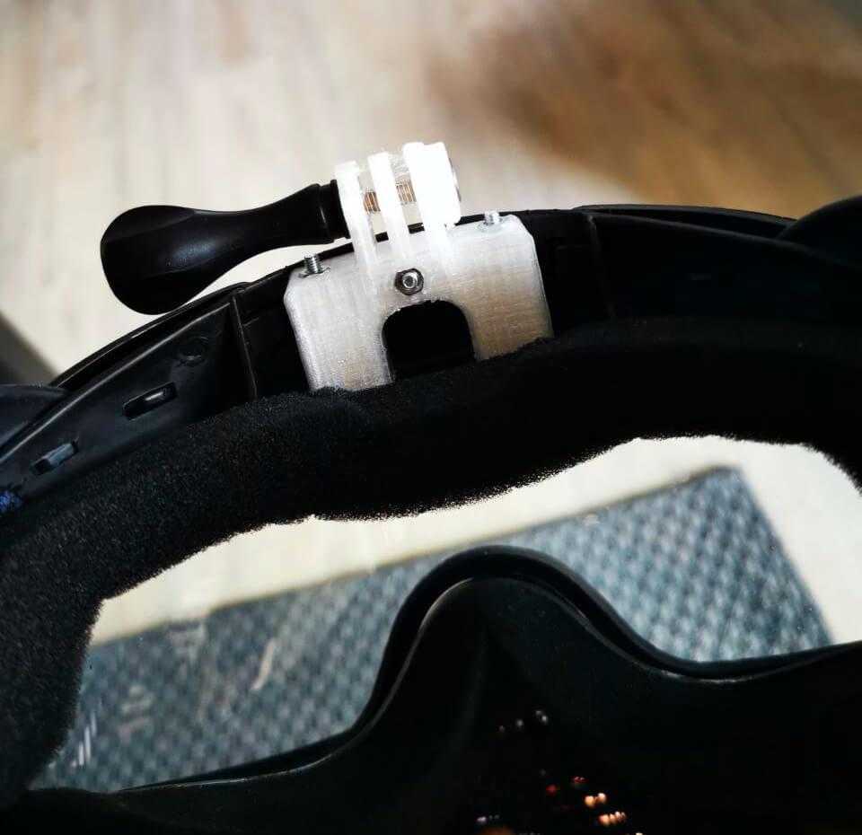 DYE Proto FS Fullfacemask GoPro Halterung Mount 2