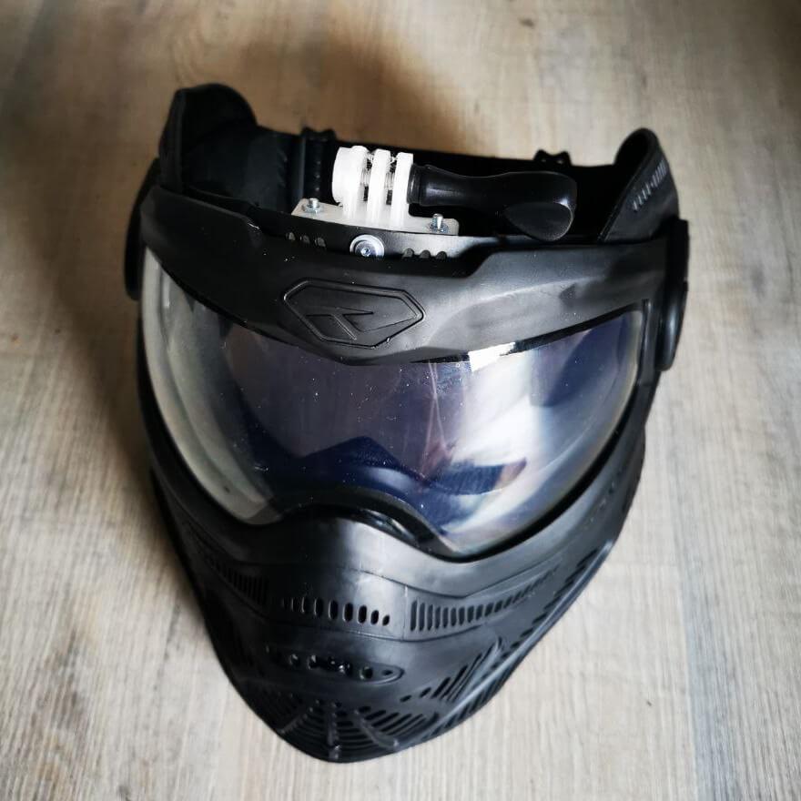 DYE Proto FS Fullfacemask GoPro Halterung Mount 1